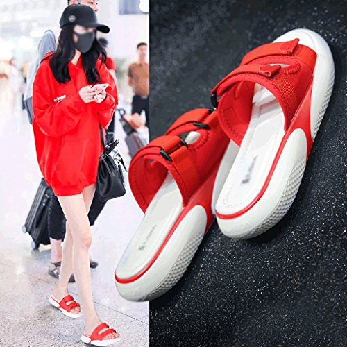 Shoes Female Sports 6 Fashion Sandals Slippers Summer Size 5 Wear Awppn76vq