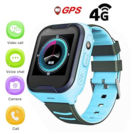 Amazon.com: GPS Watch for Kids,IPX7 Waterproof 4G Kids Smart ...