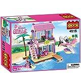 Saffire Dream Girls Beach Villa Building Set , Multi Color (423 Count)