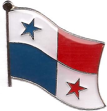 US /& Panama Pin US and Panama Flag Lapel Pin