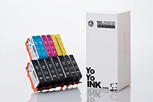 YoYoInk Remanufactured Printer Ink Cartridges Replacement for HP 564 564XL for Photosmart 7520 (5 Black, 2 Photo Black, 2 Cyan, 2 Magenta, 2 Yellow; 13 Pack)