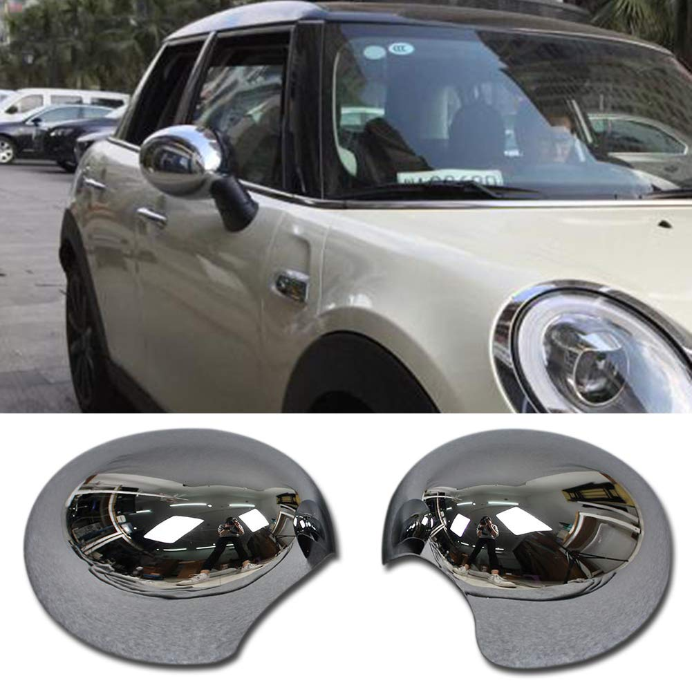 Chrome Guangzhou Ruiqing Rqing For 2018 New MINI COOPER//MINI COOPER S Rear View Mirror Cover Trims