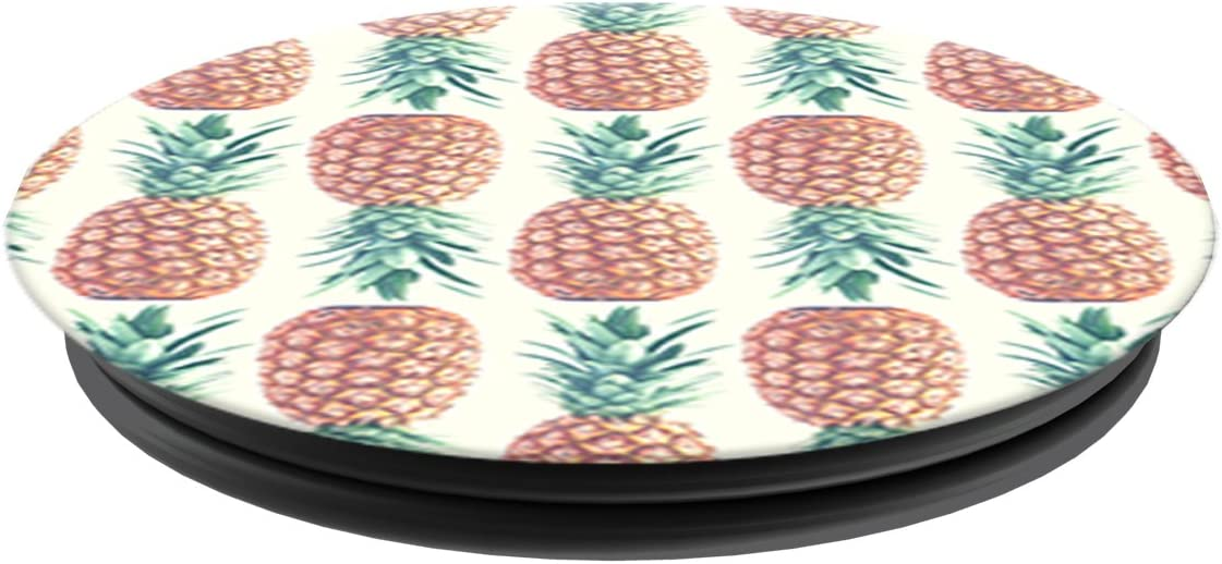 PopSockets Collapsible Grip /& Stand for Phones and Tablets Pineapple Pattern