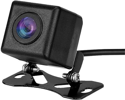 Car Backup Camera, Rear View Parking Camera HD CMOS 170 Degree Angle IP67 Waterproof Night Vision Mini Universal Reversing Camera for Trucks RVs