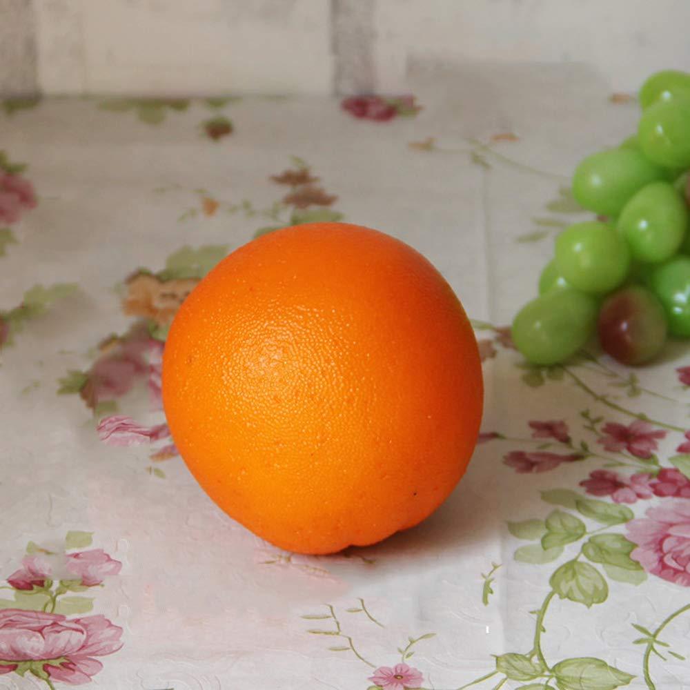 Lyanther 3 k/ünstliche Orangen Deko-Frucht