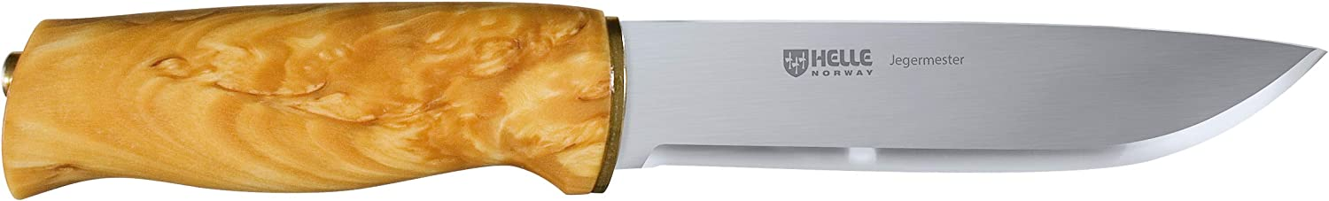 Helle Knives - Jegermester - Sandvik 12C27 Stainless Steel - Traditional Field Knife - Made in Norway