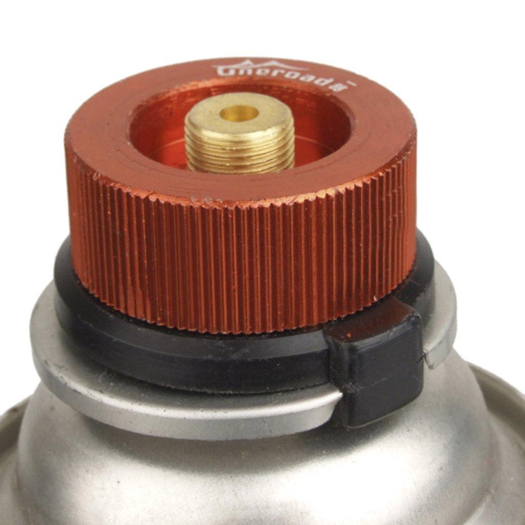 Homiki - Adapter / Anschlussstück für Gas-Kartuschen, für Campingkocher, für draußen, Kartusche mit automatischem Verschluss, Verbindungsstück zum Umwandeln von Gaskocheranschlüssen für Campingkocher für draußen PG