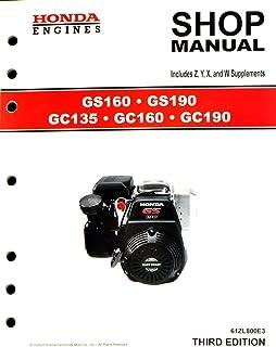 amazon com honda gx120 gx160 gx200 ut2 engine service repair shop rh amazon com