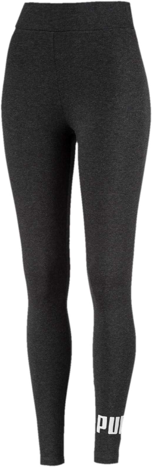 Image ofPUMA Essentials Logo W - Legging Deportivo de Talle Alto Mujer