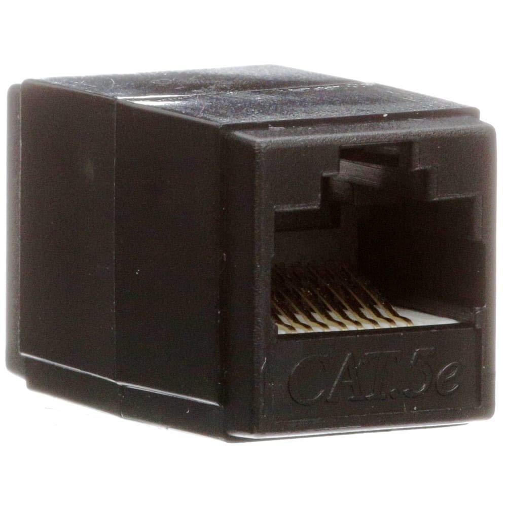 Cat.5e RJ45 UTP socket-socket coupler, Pack of 5