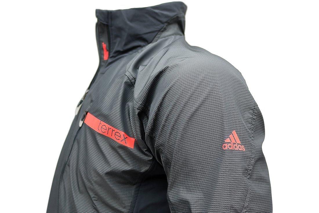 adidas Terrex Hybrid Soft Shell Jacket S09327 grau, herren