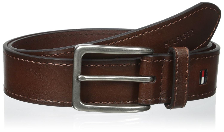 Tommy Hilfiger Men's 35mm Vegatable Leather Belt Tommy Hilfiger Men' s Accessories 11TL02X039