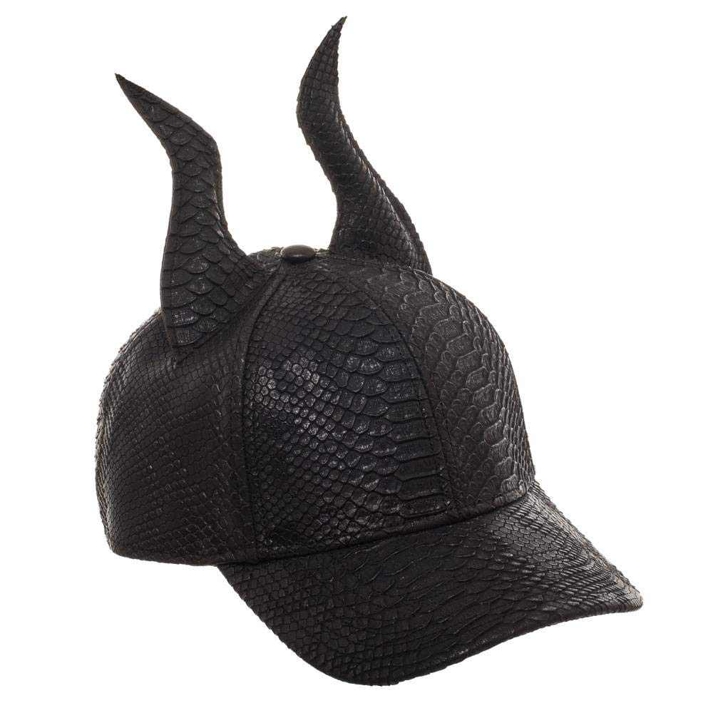 4a916f108e2 Amazon.com  Bioworld Maleficent Horns Hat 3D Maleficent Hat Maleficent Gift  - 3D Maleficent Accessory Maleficent Apparel Black  Clothing