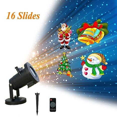 Amazon.com: Luces de proyector de Navidad, luces de ...