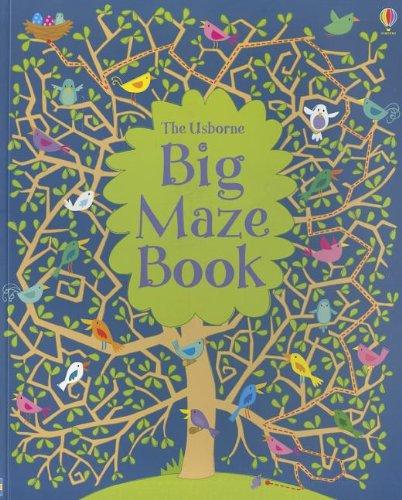 Big Maze Book (Doodling -