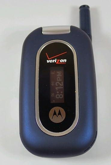 amazon com verizon motorola w315 blue clean esn ready for rh amazon com Motorola T730 Verizon Motorola W315