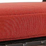 Ulax Furniture Outdoor Storage Bench Rattan Style