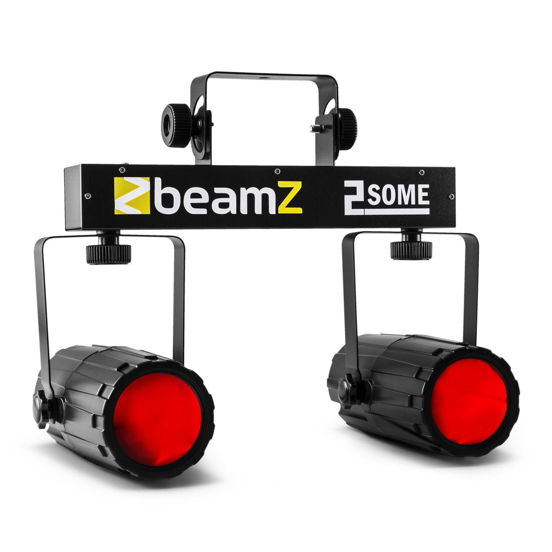 BeamZ 2-Some Licht-Set RGBW-LED Mikrofon