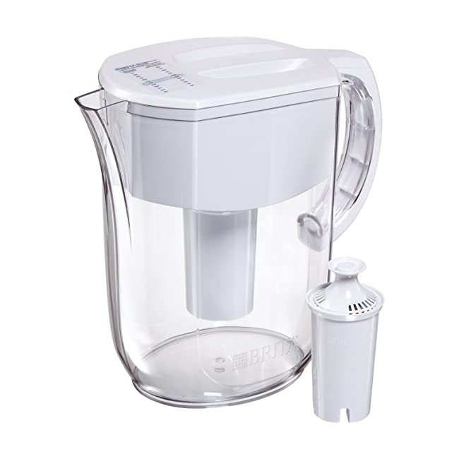 Brita Large 10 Cup Everyday Water Pitcher with...