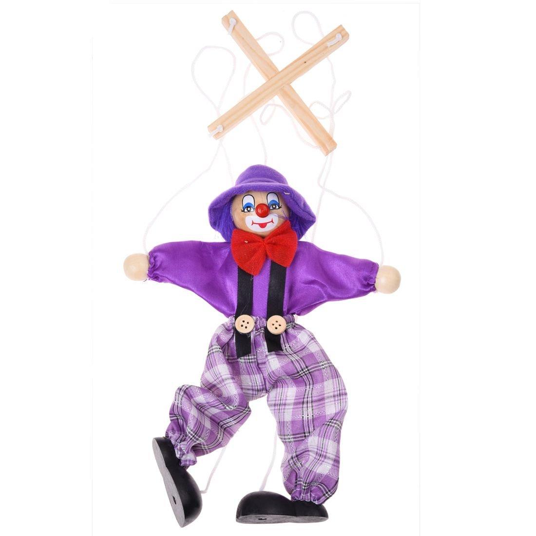 Puppet Toy - SODIAL(R)1pcs children's doll clown toy - random color 038861