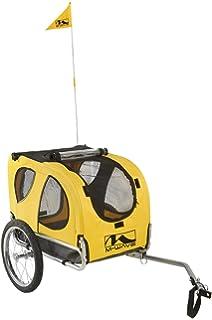 M-Wave Dog - Remolque de perro para acoplar a la bicicleta