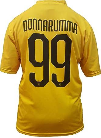 54128d62e6550 Camiseta Jersey Futbol A.C. Milan Gianluigi Donnarumma Replica Oficial  Autorizado 2018-2019 Niños (2