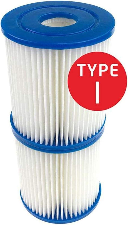 para cartucho de filtro de piscina tipo I bomba de filtro de piscina de f/ácil instalaci/ón GAODA Cartucho de filtro de piscina cartucho de repuesto de bomba de filtro 10 PCS