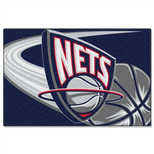 (EveryBlanket.com New Jersey Nets NBA Rug - 20