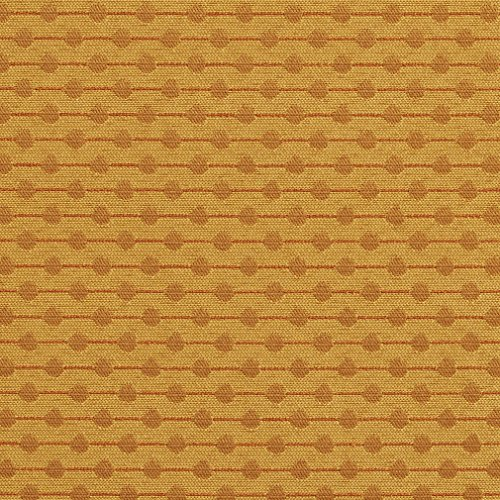 A747 Gold and Yellow Polka Dot Contract Grade Upholstery Fabric by The Yard (Upholstery Dot Polka)