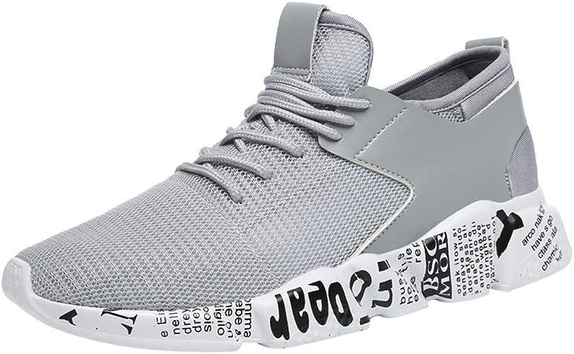 Herren Laufschuhe Sportschuhe Sneakers Turnschuhe Runners Mesh Freizeit Schuhe