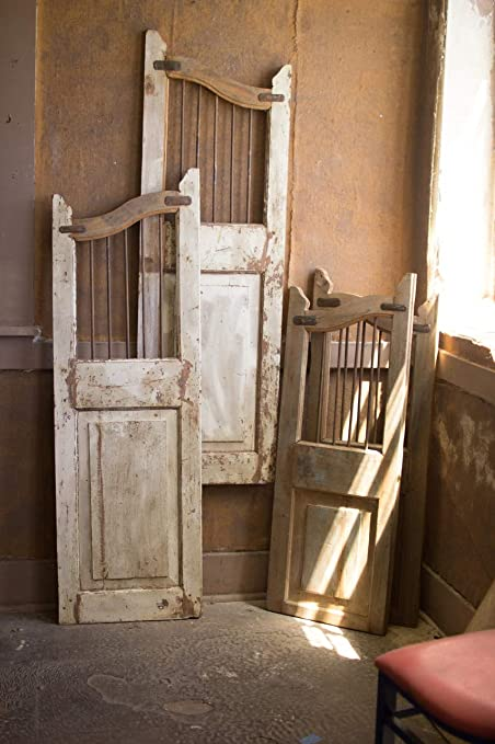 Superieur Amazon.com: BORNEO DECOR Set Of Two REPURPOSED Matching Wood And Iron Saloon  Doors: Kitchen U0026 Dining
