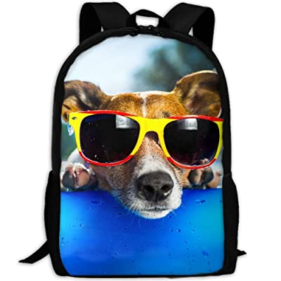 SZYYMM Personalized Funny Dog Oxford Cloth Fashion Backpack,Travel/Outdoor Sports/Camping/School, Adjustable Shoulder Strap Storage Dayback For Women And Men