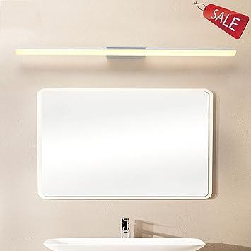 Lámparas Focos para la Pared Apliques Iluminación Espejo LED Espejo Luz de Pared  Espejo Luz del gabinete Impermeable Anti Niebla Cuarto de Baño Dormitorio  ... 7fd665f95a71