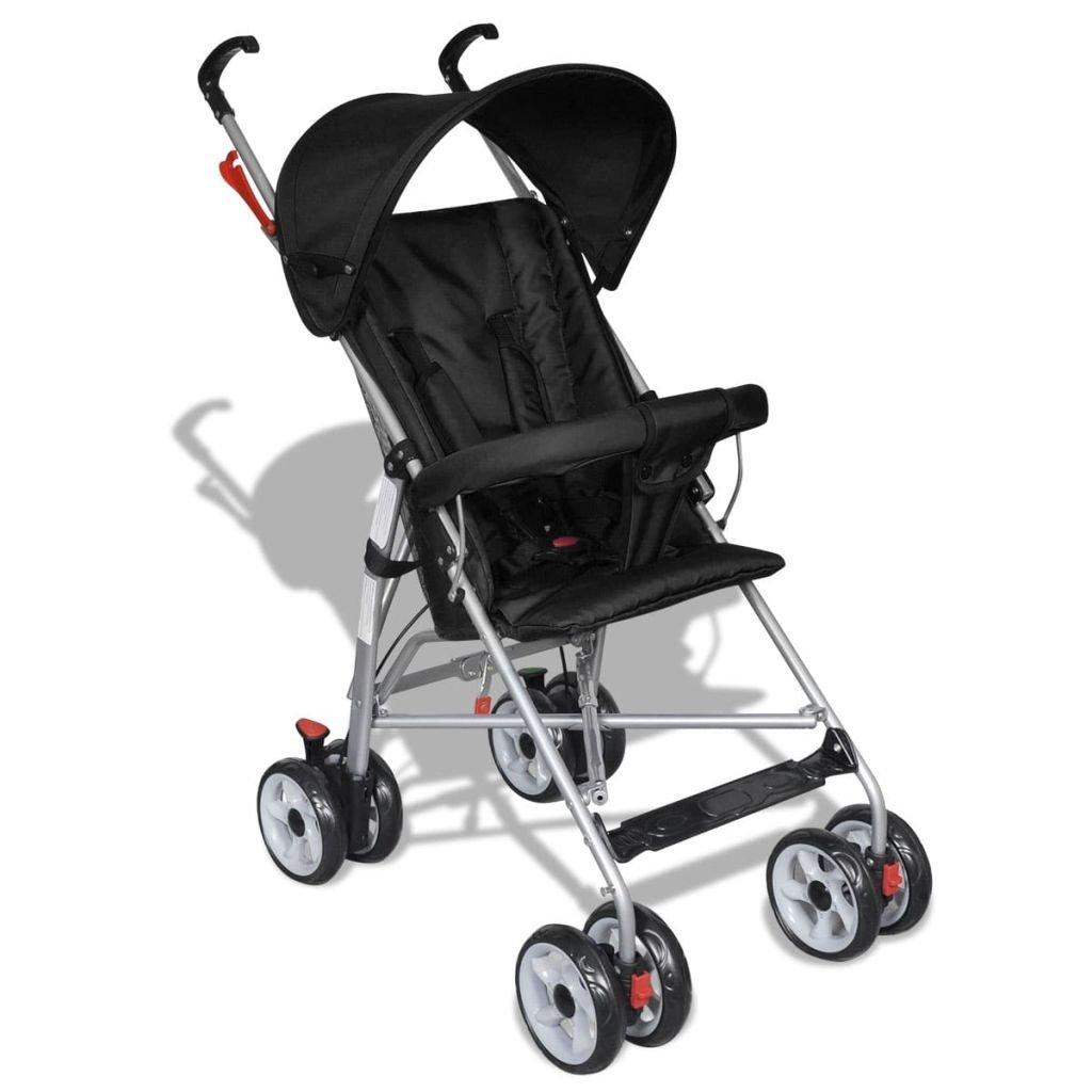 vidaXL Buggy Kinderwagen Sportwagen Kinderbuggy Babywagen Baby Jogger Reisebuggy