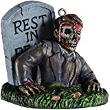 Creepy Zombie Horror Ornament - Scary Prop and Decoration for Halloween, Christmas, Parties and Events - Bobbie Weiner Bloody Mary Series - By HorrorNaments