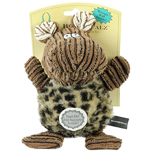 Hyper Pet Bumpy Palz Hippo with Squeaker, Small