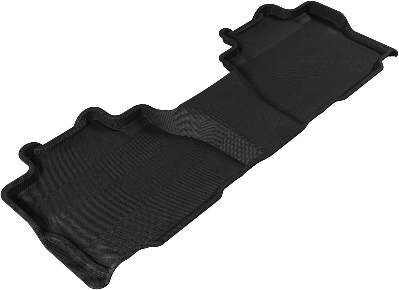 Kagu Rubber Black 3D MAXpider Cargo Custom Fit All-Weather Floor Mat for Select Toyota Sequoia Models