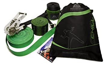Skylotec Klettergurt Anleitung : Mountain equipment slackline by heinz zak chill 15 m: amazon.de