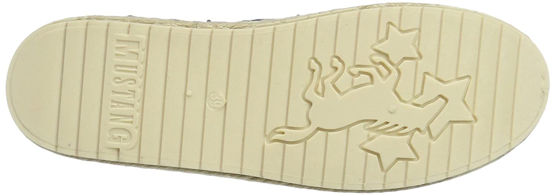 Mustang 1245-207, Alpargatas para Mujer, Azul (875 Sky), 41 EU: Amazon.es: Zapatos y complementos