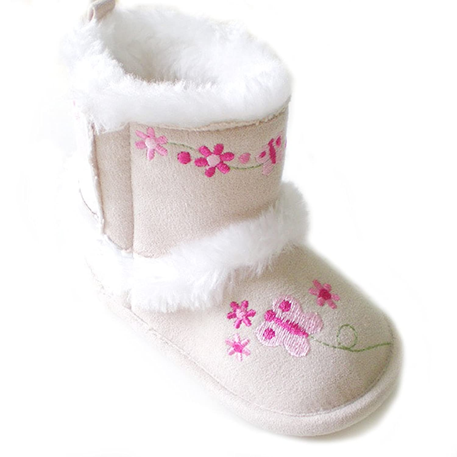 Toddler Baby Girls Princess Snow Cotton Boots Shoes X22 6 9 months
