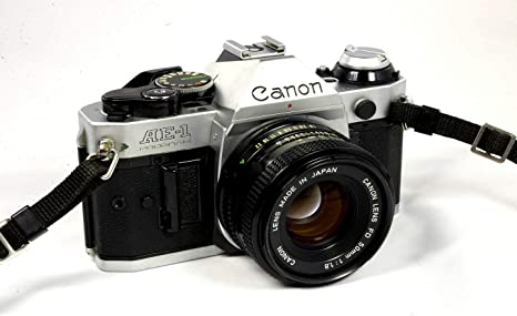 Canon AE-1 Program + FD 50mm f1.8 SLR analogica: Amazon.es ...