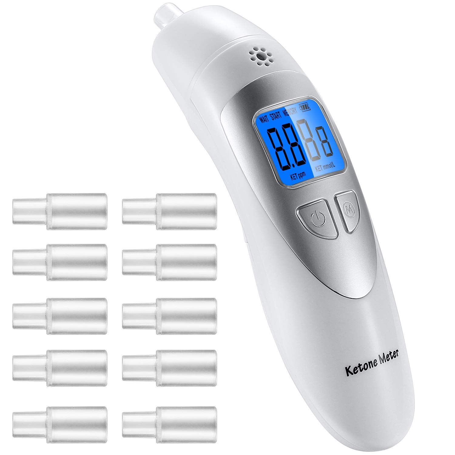 Ketone Monitor with New Technology Semi-Conductor Sensor to Test The Ketone Content by Breath by Huainafajk