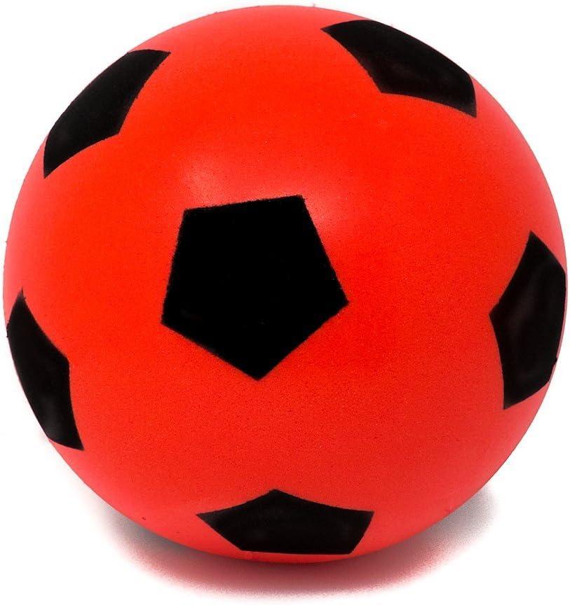 E-Deals Balón de fútbol, Suave, de Espuma, para Interior y ...