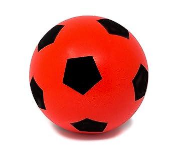 Fútbol de espuma suave, de E-Deals, ED1PK20CMRFF, 20cm Red: Amazon ...