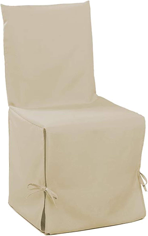 Douceur d Int/érieur 1605819 Essentiel funda de silla Nouette poli/éster lino