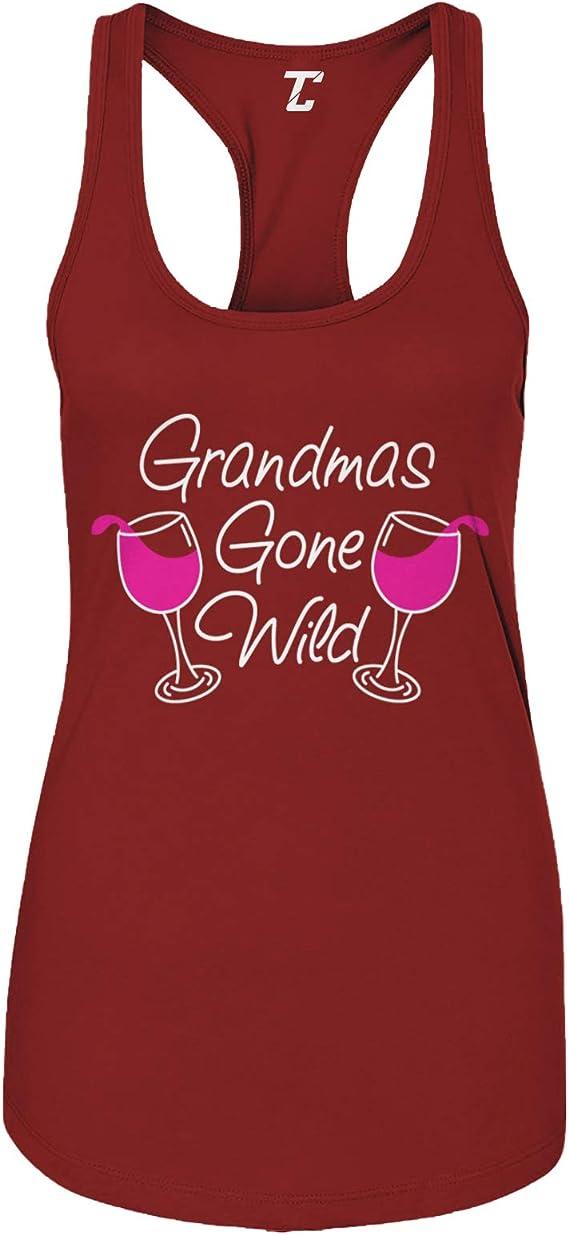 Grandma's Gone Wild - Wine Women's Tank Top