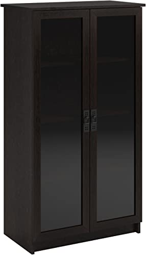 Reviewed: Ameriwood Home Quinton Point Glass Door Bookcase