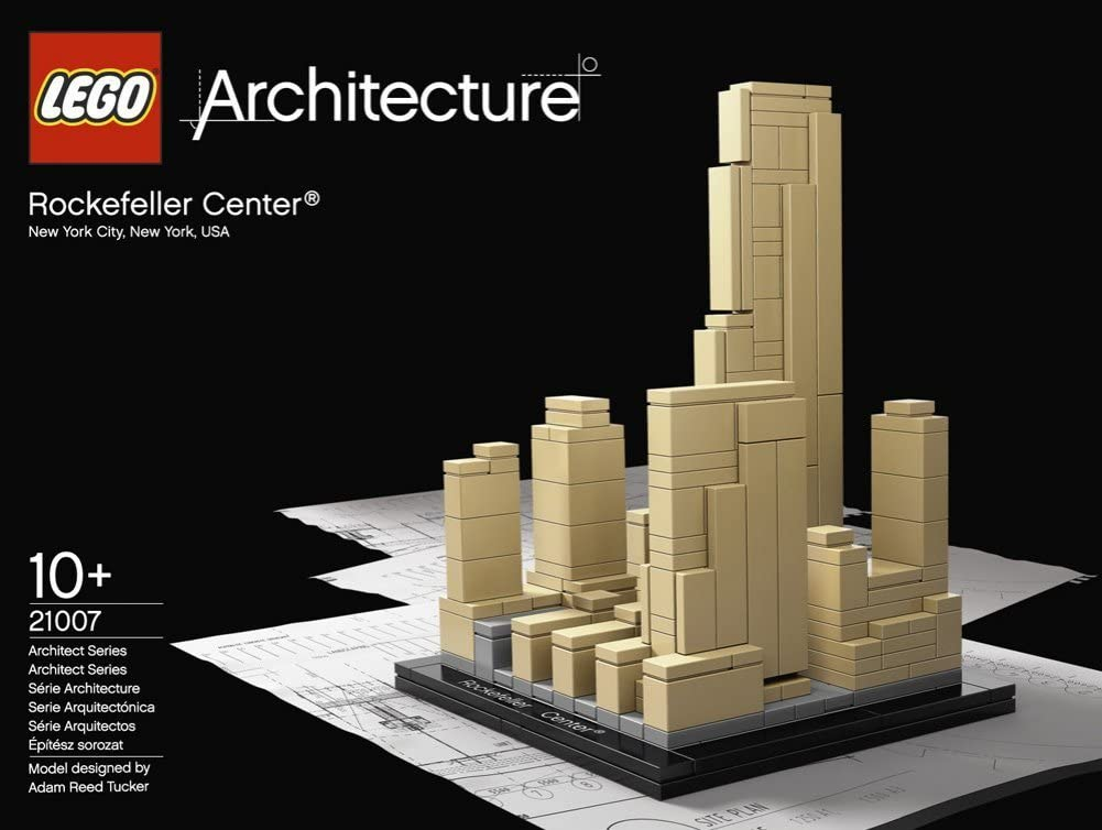 LEGO Architecture 21007 Rockefeller Center (NYC): LEGO: Amazon.es: Juguetes y juegos
