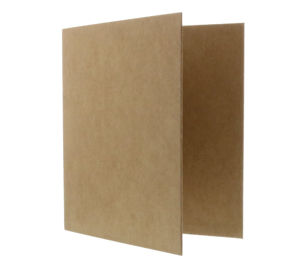 JAM Paper Kraft 1 inch Binder - Natural Recycled Kraft 3 Ring Binder - Sold Individually