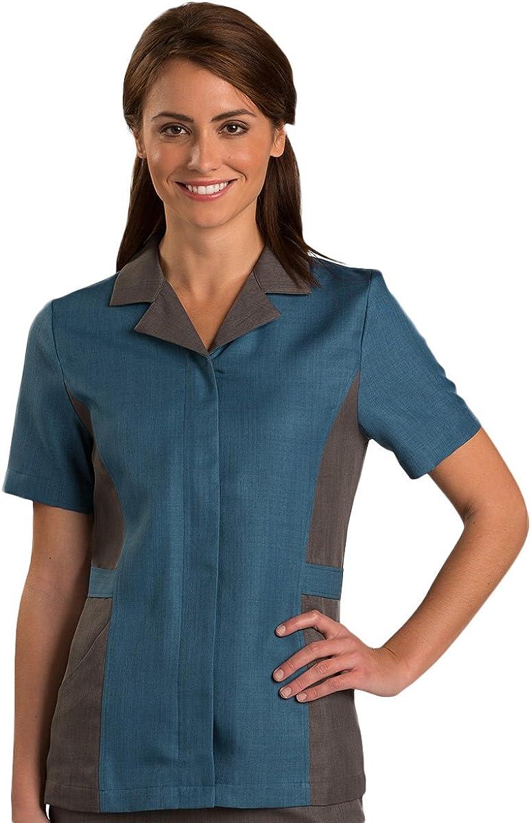 Ed Garments WomenS Short Sleeve Tunic-Imperial Blue-3Xl